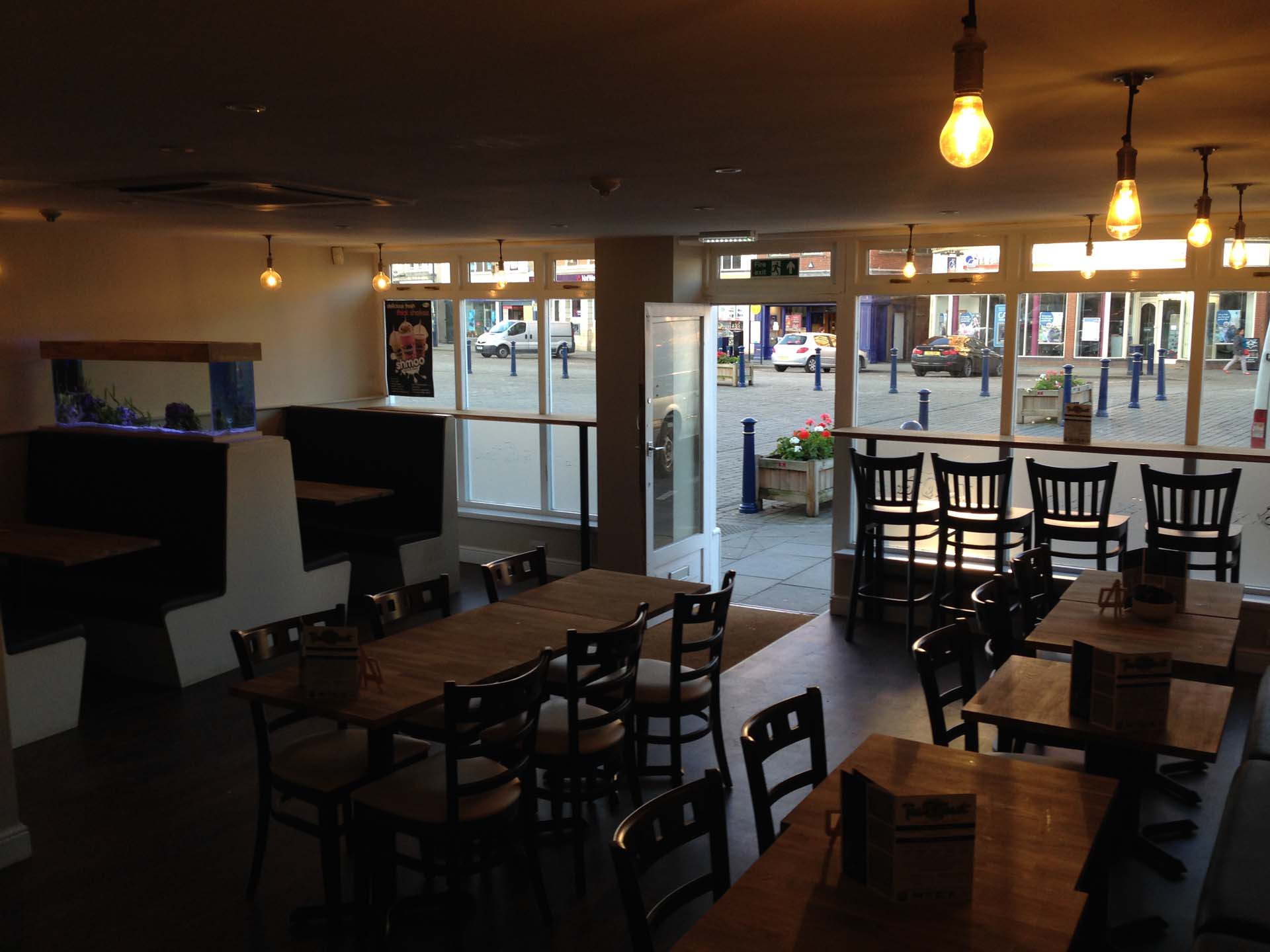 Tea and Toast Boston Lincolnshire Bespoke Coffee Shop Layout