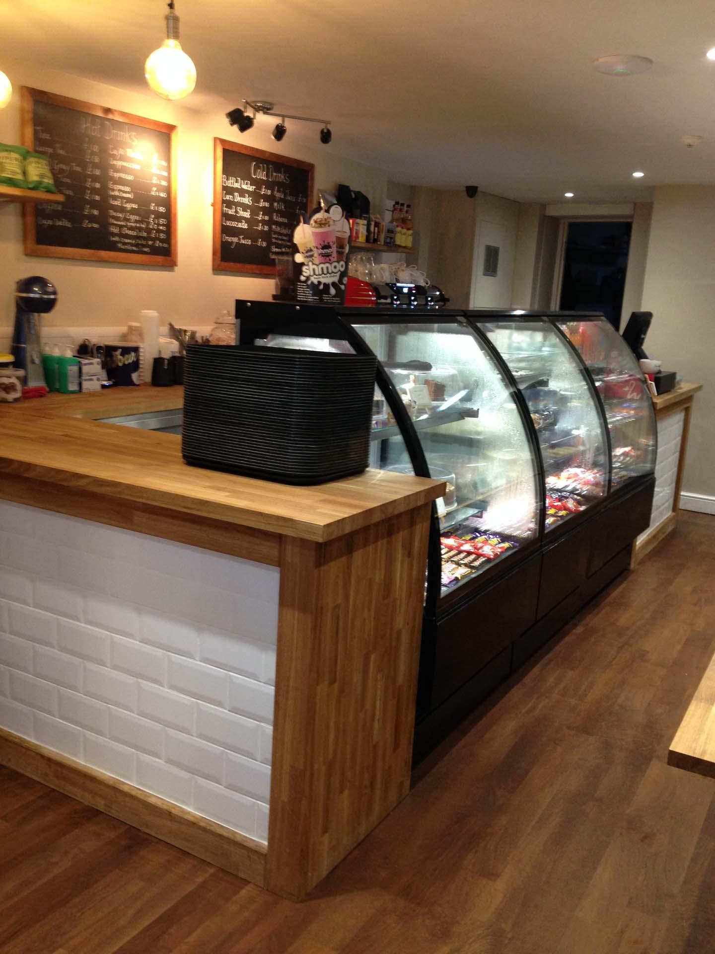Tea and Toast Boston Lincolnshire Coffee Shop Counter Design