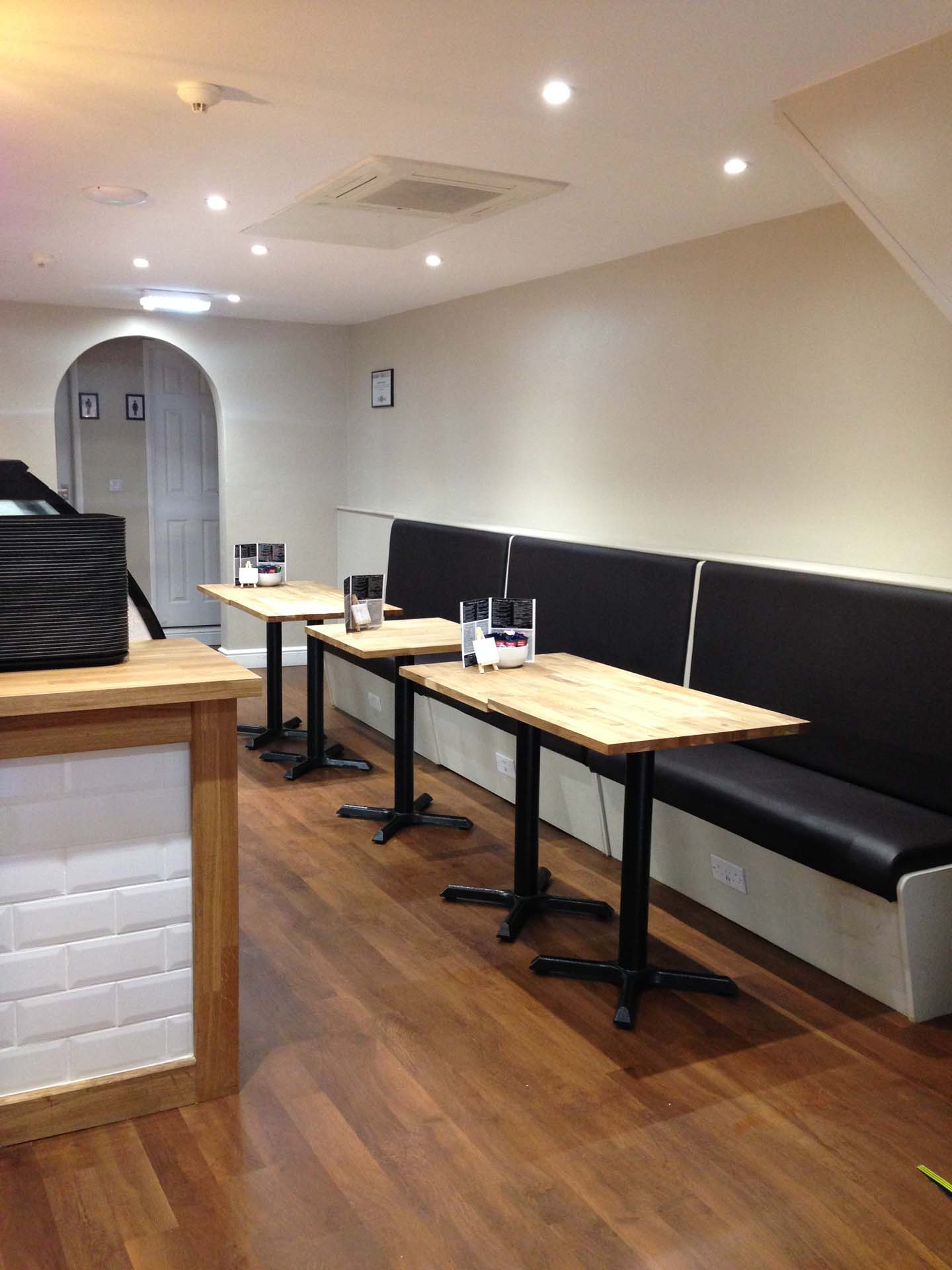 Tea and Toast Boston Lincolnshire Fit-out